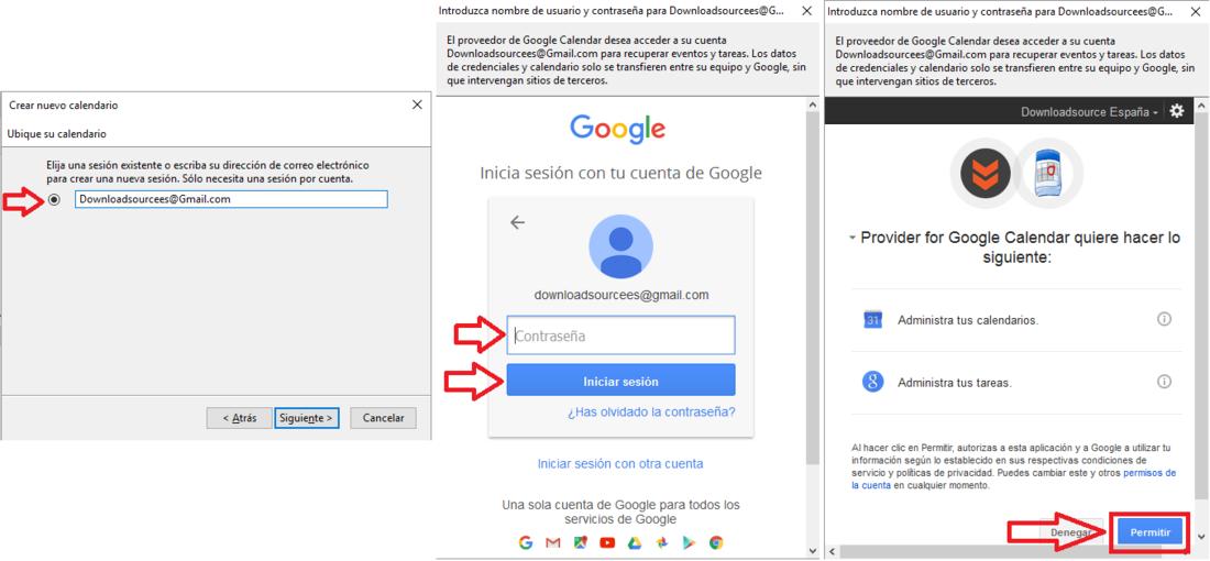 Sincronizar calendario de google con Thunderbird