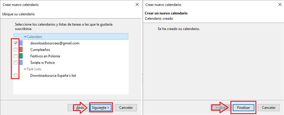 sincronizar google calendar con Thunderbird