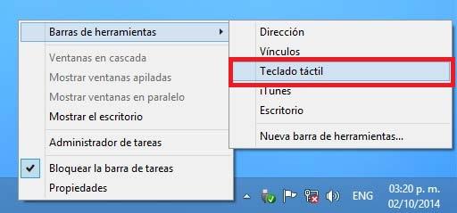 Resultado de imagen para teclado en pantalla windows 10
