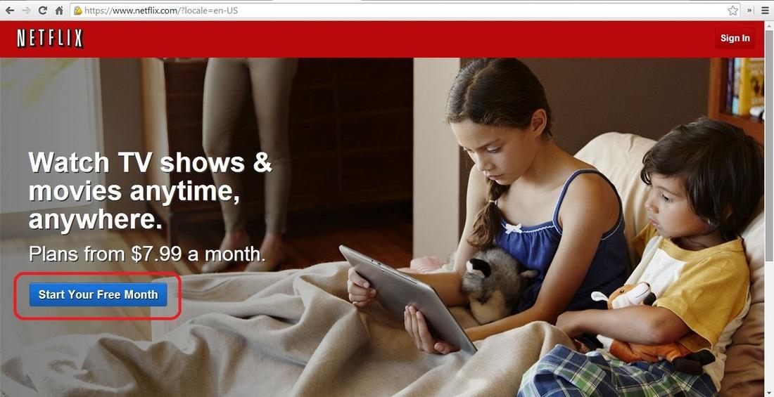 Como disfrutar de Netflix 1 mes gratis sin tu tarjeta de credito.