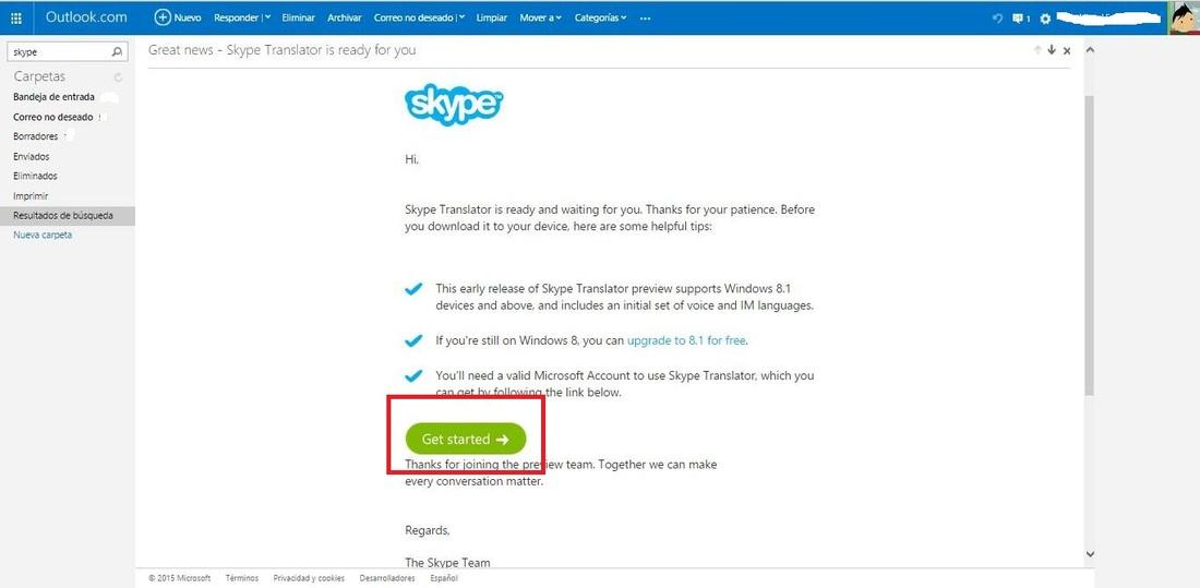como funciona skype translator