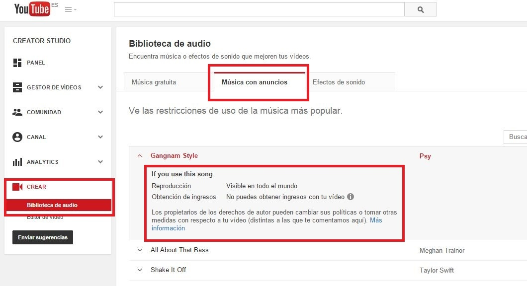 Como Añadir Música A Tus Videos De Youtube Sin Infringir El Copyright