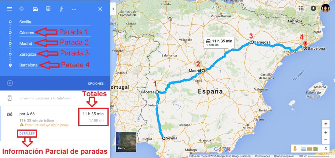 Como aadir ms de un destino o parada en la ruta de google maps google maps permite la creacin de rutas en google maps gumiabroncs Choice Image