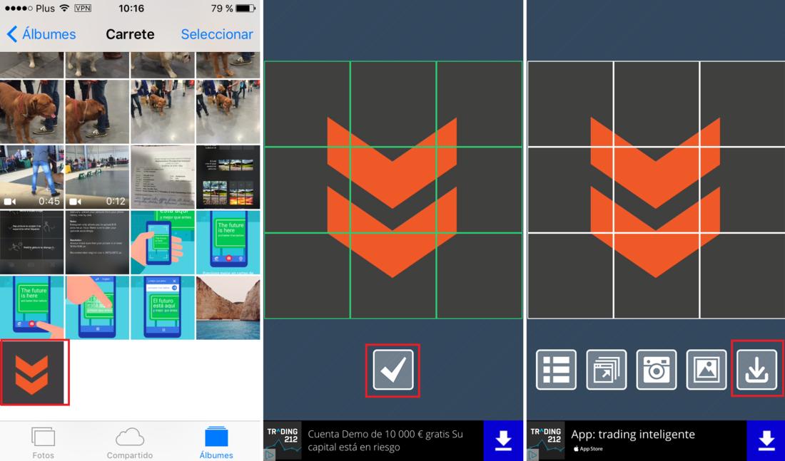 Como crear mosaico a partir de una foto en tu perfil de Instagram ...