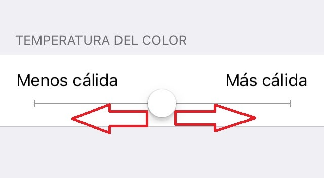 Personaliza la temperatura de los colores de Night Shift de iOS 9.3