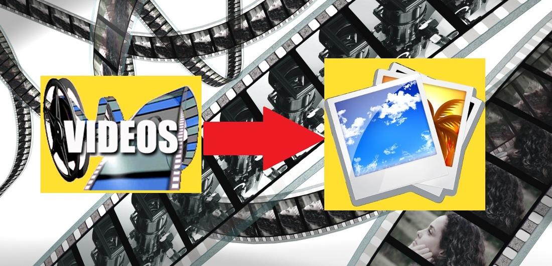 Como extraer una imagen o foto a partir de un vídeo o película.