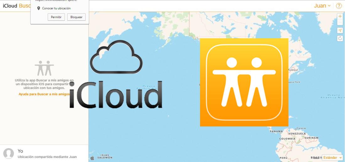 0d1117364 Localizar tus amigos de Apple gracias al servicio Buscar Amigos desde iCloud