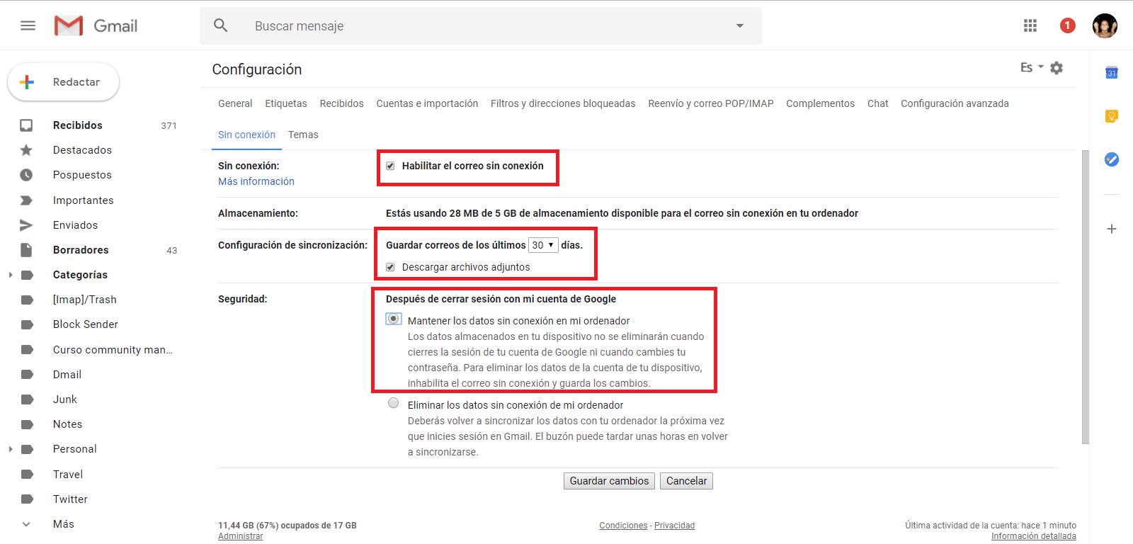 ya puedes crear un acceso directo a tu correo electrónico de Gmail desde el escritorio de windows