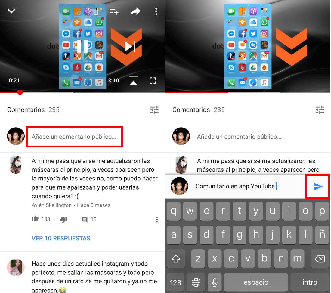 Como Ver Y Hacer Comentarios En La App De Youtube Videos