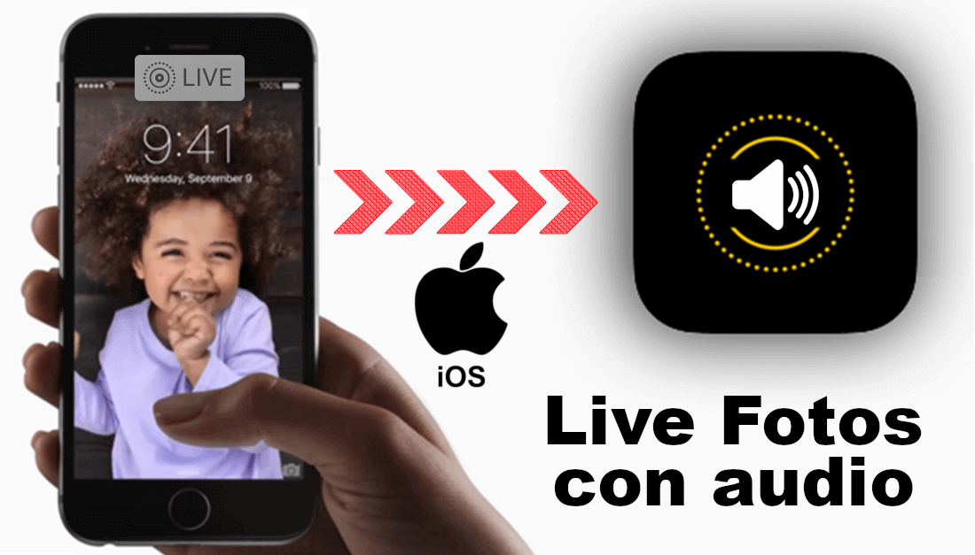 activar el audio de las live fotos en iPhone con iOS