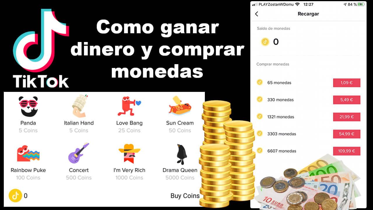 Como Comprar Monedas Y Ganar Dinero En Tiktok