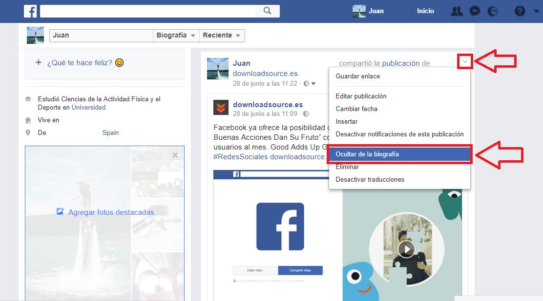 Como cambio mi foto de perfil en facebook nuevo 78