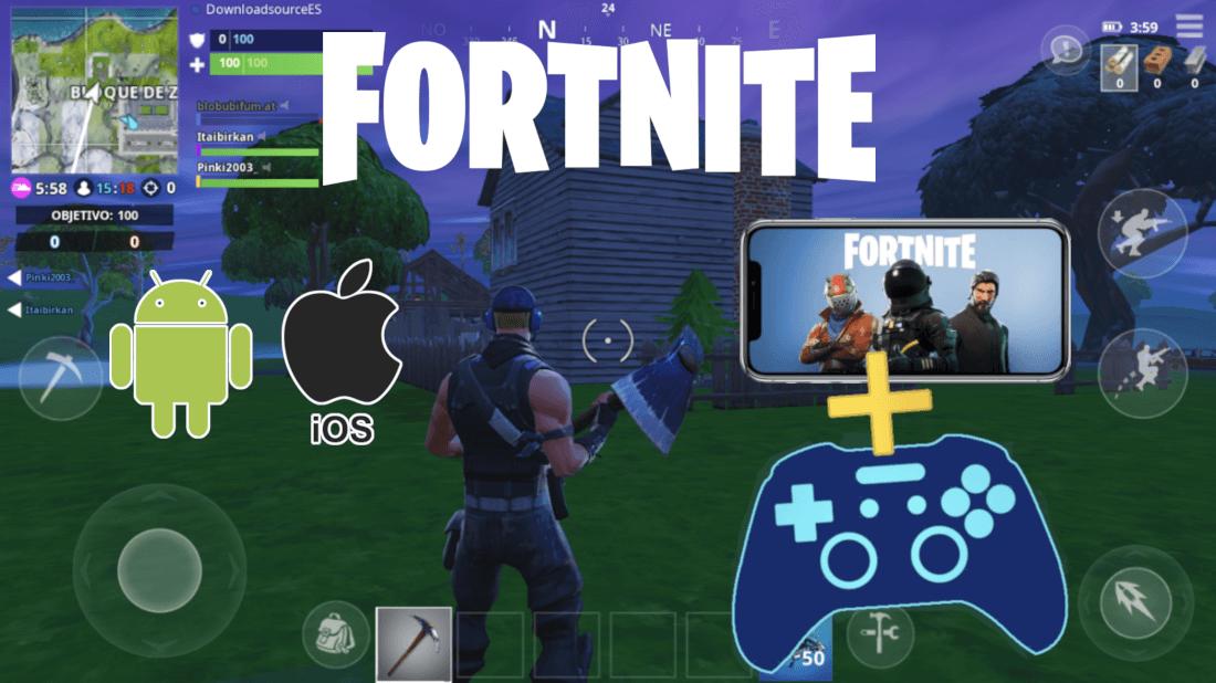 Como jugar Fortnite Mobile con mando de consola (Oficial)