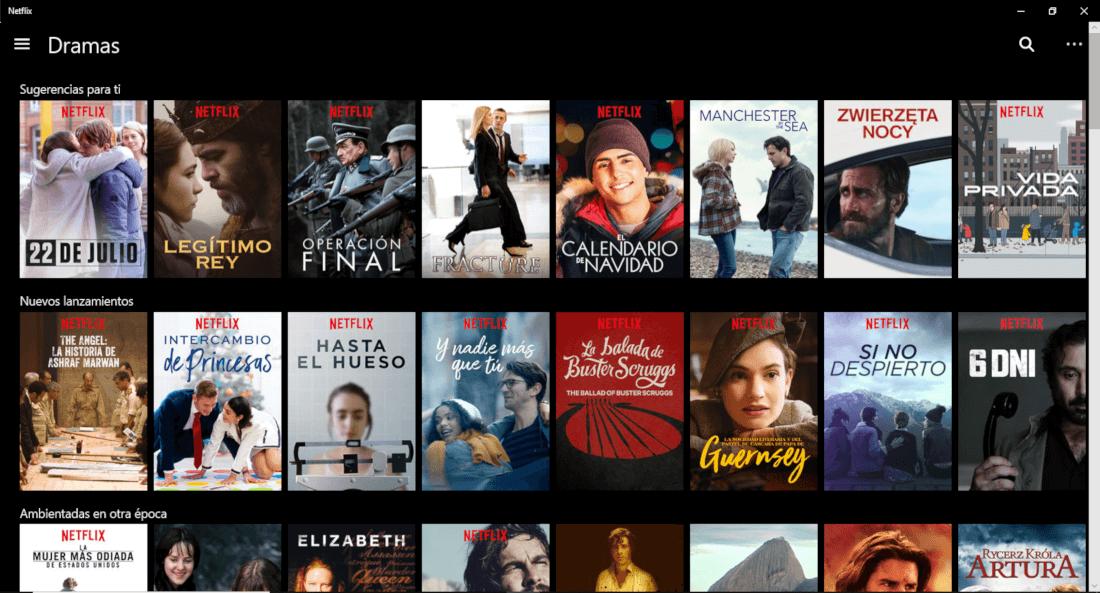 Como descargar películas y series de Netflix a tu PC o móvil (Offline)