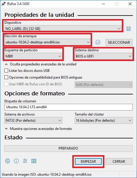 Cómo crear un USB de arranque con Ubuntu (Linux)