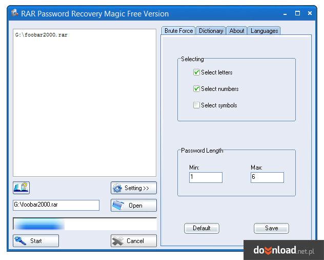 krylack rar password recovery 3.60.68 serial