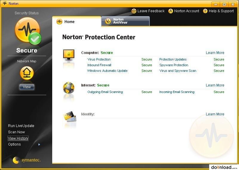 Download norton antivirus 2010 free.