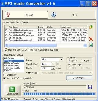 programa para convertir de mp3 a wav