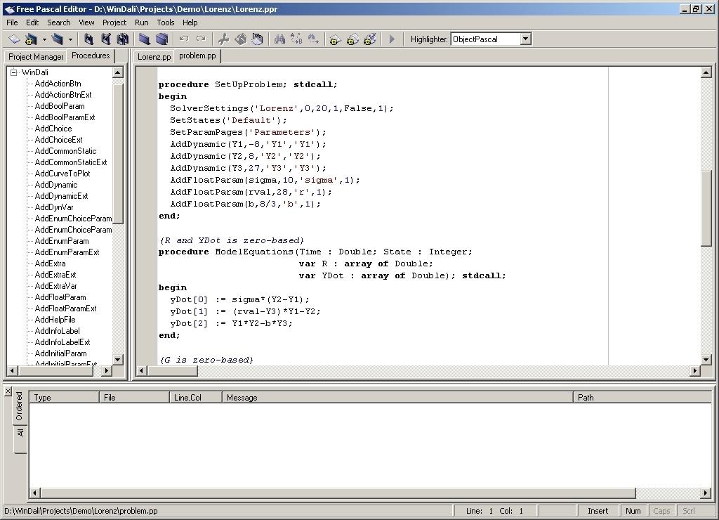un compilateur pascal