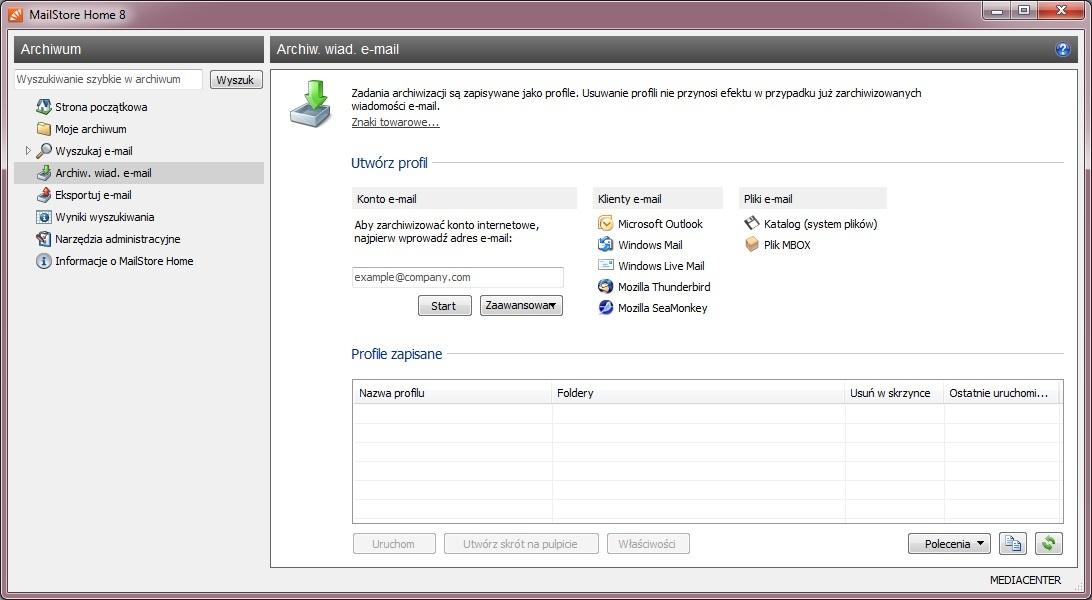 Mailstore home descargar clientes de correo electr nico for Home source store